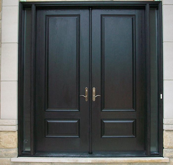 Fiberglass Doors Front Entry Doors Modern Doors Woodgrain