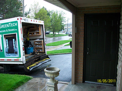 1-Smooth Door Installed by Windows and Doors Toronto