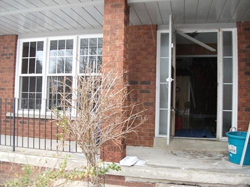 11- Single Door and Window Before Installation