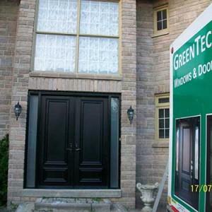 7-Smooth Doors, 8 foot Solid Doors installed by Windows and Doors Toronto