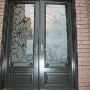 8 Foot Door, Double-Milan-Design-front-Door-with-Multi-Point-Locks-installed- by Windows and Doors Toronto in-Mississauga