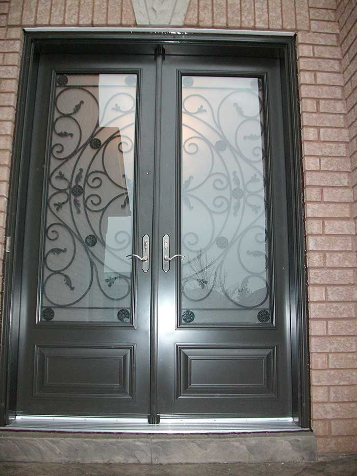 Windows And Doors Toronto 8 Foot Door Double Milan Design