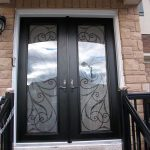 8-Foot-Fiberglass-Double-Milan-Design-front-Door-with-Multi-Point-Locks-installed- by Windows and Doors Toronto