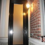 8-Foot-Fiberglass-Glass-Design-Single-Back-Yard-Door-With-Transom-Installed- by Windows and Doors Toronto