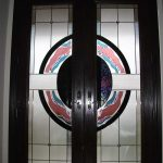 8-Foot-Fiberglass-Milan-Design-Door-Installed- by Windows and Doors Toronto in Toronto