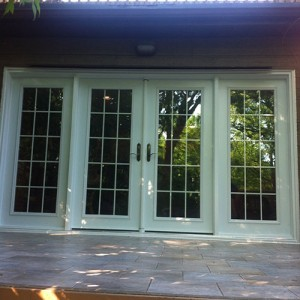 8 Foot French Doors Installed by Windows and Doors Toronto