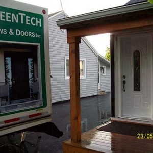 8-Smooth Door with Multi Point Locks installed by Windows and Doors Toronto