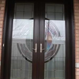 Custom Doors-8-Foot-Fiberglass-Milan-Design-Door-Installed-in-Woodbridge by Windows and Doors Toronto