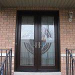 Custom Doors, Milan-Design-8-Foot-Fiberglass--Door-Installed by Custom Windows and Doors Toronto-in-Woodbridge-Inside-View