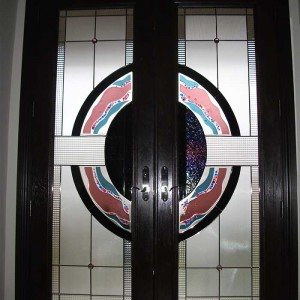 Custom Doors,8-Foot-Fiberglass-Milan-Design-Door-Installed-in-Woodbridge-by Windows and Doors Toronto,Inside-View