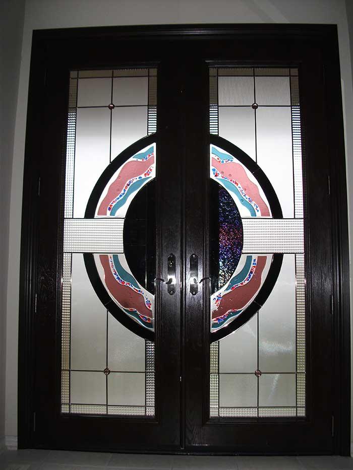 Custom Doors,8-Foot-Fiberglass-Milan-Design-Door-Installed-in-Woodbridge-by Windows and Doors Toronto,Inside-View