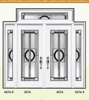 Daniel Stained Glass Doors by Windows And Doors Toronto