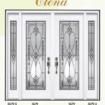 Elena Stained Glass Doors by Windows And Doors Toronto