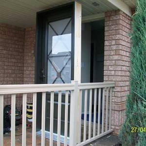 Excalibur Smooth Door Installed by Windows and Doors Toronto