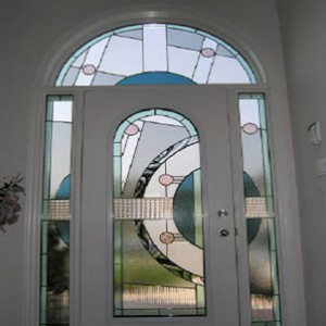 Expression Stained Glass Exterior Doors by Windows And Doors Toronto