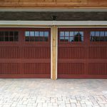 Fiberglass Garage Doors with Windows installation by Windows and Doors Toronto