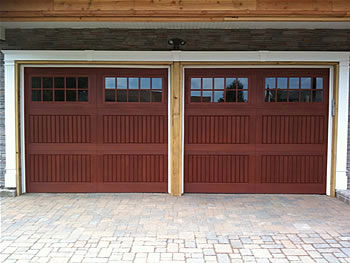 Fiberglass Garage Doors with Windows installation by Windows and Doors Toronto