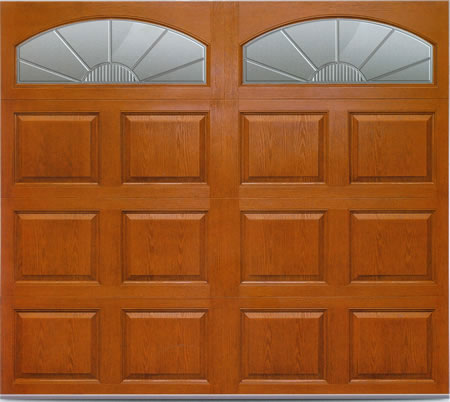 Fiberglass Woodgrain Garage Doors installation by Windows and Doors Toronto