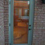 Flush Glazed Smooth Door installation by Windows and Doors Toronto