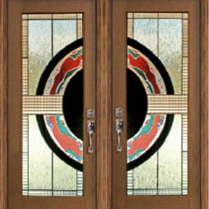 Galaxi Stained Glass Fiberglass Doors by Windows And Doors Toronto