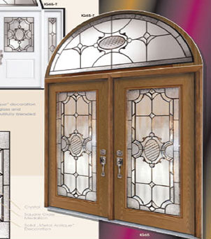 Imperial Stained Glass Fiberglass Doors by Windows And Doors Toronto