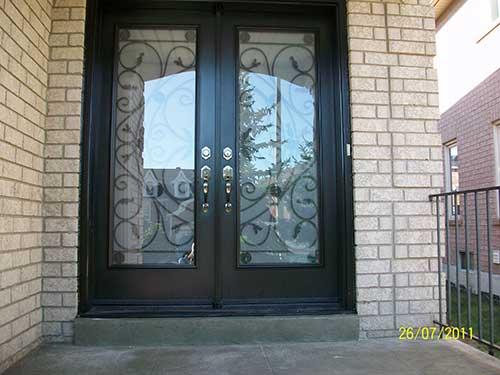 Jullietta Smooth Doors with Multi Points locks installed by Windows and Doors Toronto