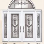 Miami Stained Glass Fiberglass Doors by Windows And Doors Toronto