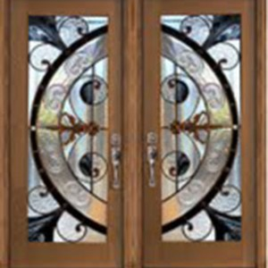 Milano Stained Glass Fiberglass Doors by Windows And Doors Toronto