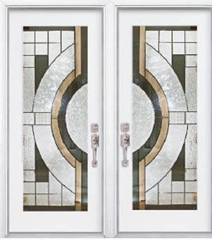 New York Stained Glass Fiberglass Doors by Windows And Doors Toronto