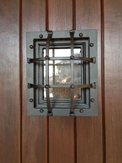 Rustic Door-Custom Fiberglass Door Installed in Berlington by windowsanddoorstoronto.ca