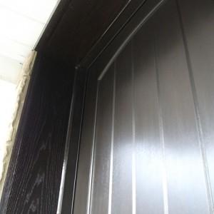 Rustic Door Installed by Windows and Doors Toronto