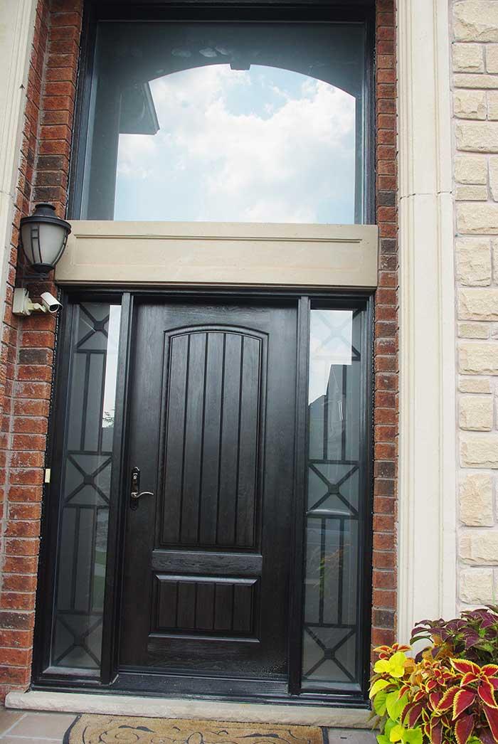 Rustic Fiberglass Doors