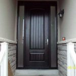 Rustic Door - Stain, Spainsh Oak In & Out installed by Windows and Doors Toronto