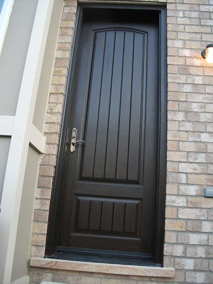 Rustic Door, with Multi Point Locks Installed by Windows and Doors Toronto in King City Ontario
