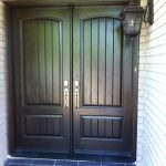 Rustic Doors, Fiberglass Woodgrain Doors with Multi Point Locks Installed by Windows and Doors Toronto
