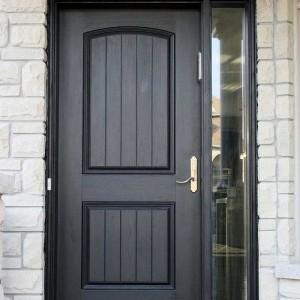 Rustic Doors, Single Solid Door installed by Windows and Doors Toronto
