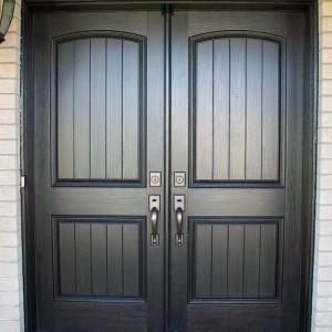 Rustic Doors, Woodgrain Installed by Windows and Doors Toronto in Brampton