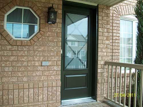 Smooth Door, Excalibur Design Installed by Windows and Doors Toronto