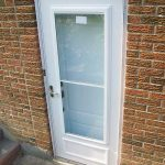 Smooth Door Solid Single Door Installed by Windows and Doors Toronto