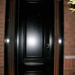 Smooth Door with 2 Side lites installed by Windows and Doors Toronto