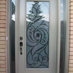 Smooth Door with Multi Point Locks installation by Windows and Doors Toronto