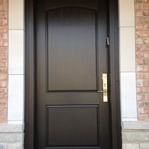 Smooth Door with multi point locks Installed by Windows and Doors Toronto