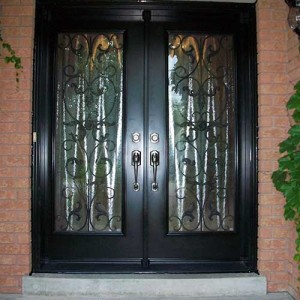 Smooth Doors, Primvera Design Double Doors installation by Windows and Doors Toronto