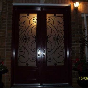 Smooth Doors installed by Windows and Doors Toronto