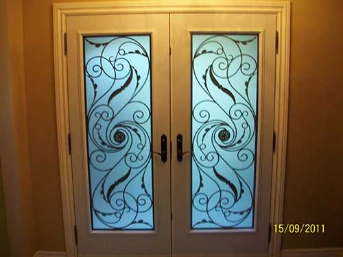 Smooth Julleitta Doors with Multi Point Locks Installed by Windows and Doors Toronto in Hamilton-Inside View