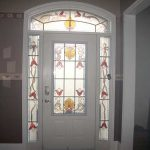 Stained Glass Door Installed in Scarborough - Inside View by Windows And Doors Toronto