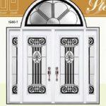 Stella Stained Glass Fiberglass Doors by Windows And Doors Toronto