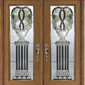 Venice Stained Glass Fiberglass Doors by Windows And Doors Toronto