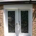 White Jullietta Smooth Doors with Multi Points locks installed by Windows and Doors Toronto