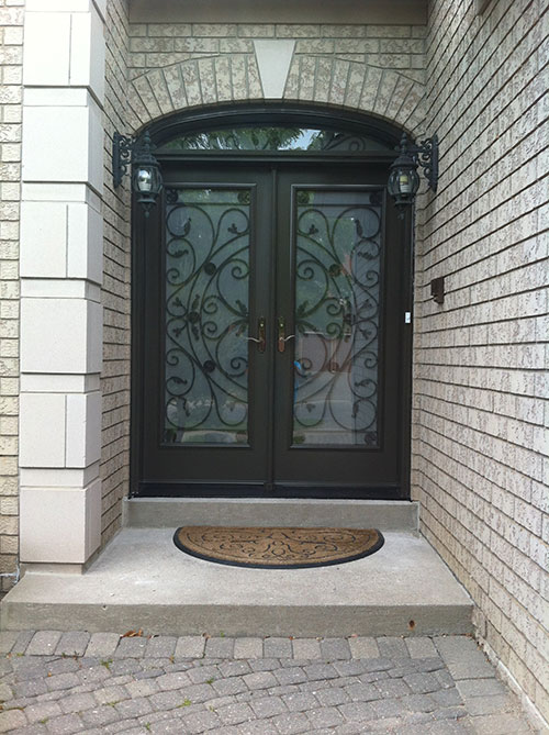 Front Entry Doors Wrought Iron Doors Fiberglass Doors